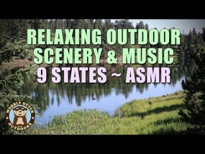 Unwind to Our Fave Outdoor Scenes, Streams, Wildlife, & Relaxing Music - ASMR - No Words